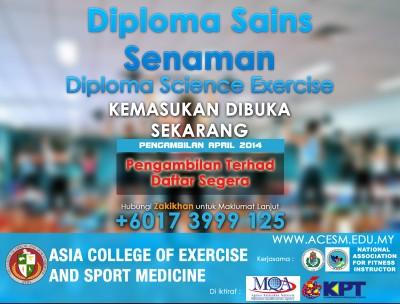 ACESM Diploma April