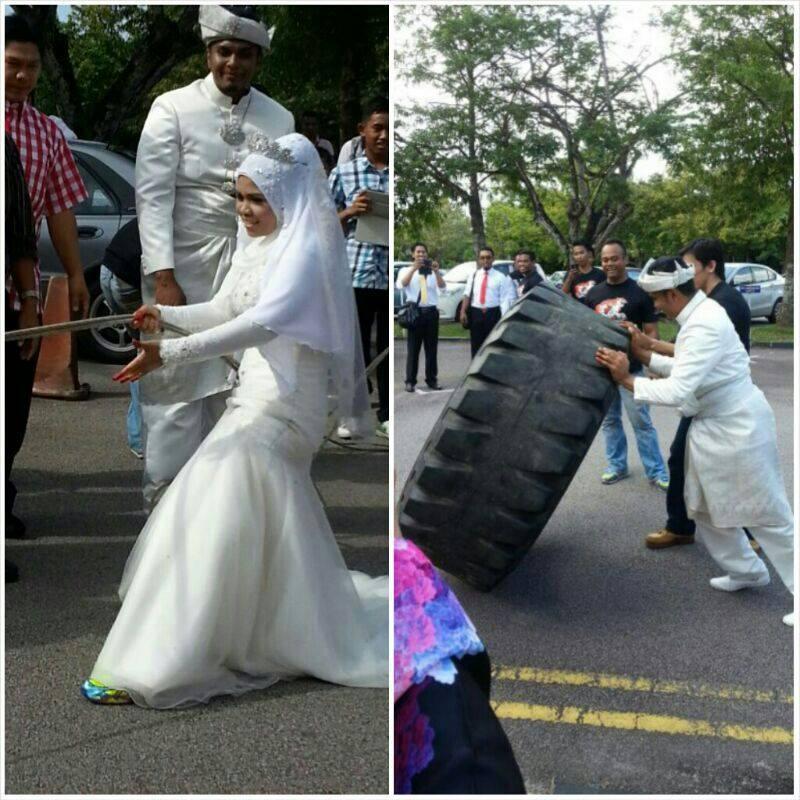 Perkahwinan Zaki Khan dan Diane Sera