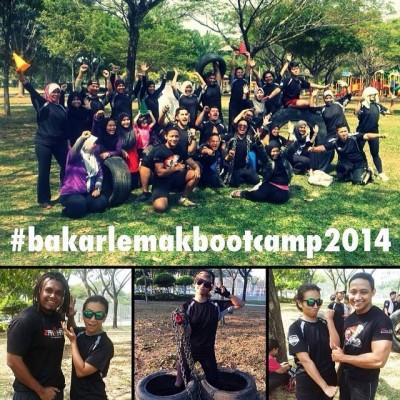 Farah Fauzana di Bakar Lemak Boot Camp