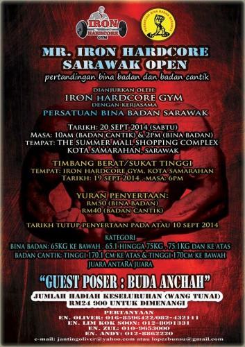 Mr Iron Hardcore Sarawak