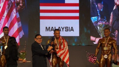 Sazali Samad menang kategori 75kg