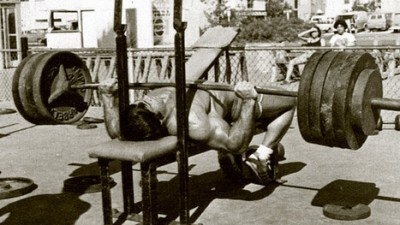 Tambah Kekuatan Bench Press