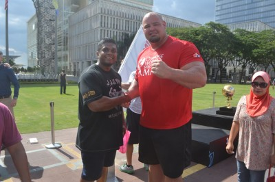 Brian Shaw, pemenang World Strongest Man 2015