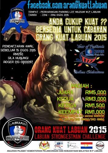 Labuan Strongestman 2015