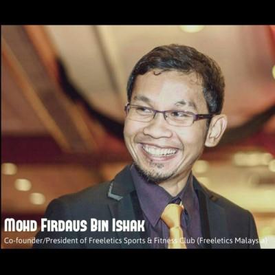 Firdaus Ishak, Presiden Kelab Sukan Kecergasan Freeletics Malaysia