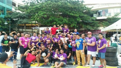 Peserta Selangor Strongestman 2015