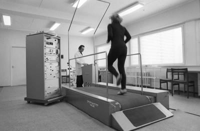 Treadmill Olympic Village 1980