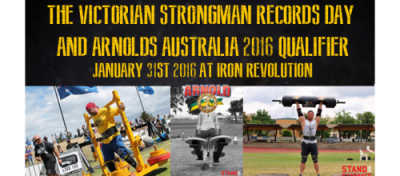Victorian Strongman Arnold Classic Australia 2016