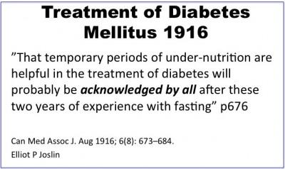 Diabetes Mellitus dirawat dengan Puasa
