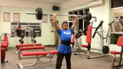 Aiman - OHP 70kg