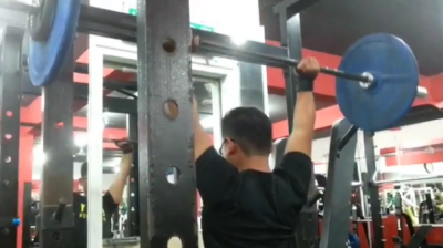 Aiman - Overhead Press 65kg