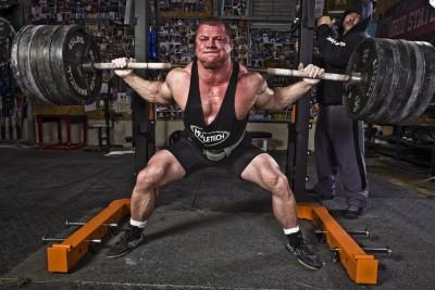 Kekuatan Belakang Untuk Squat