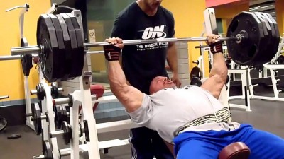 Latihan Incline Bench Press
