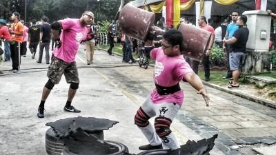 Aiman - Giant Dumbbell 55kg