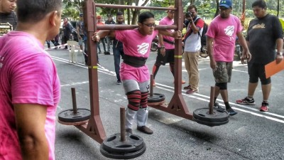 Aiman - Yoke Walk 220kg