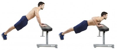 Cara Incline Push Up