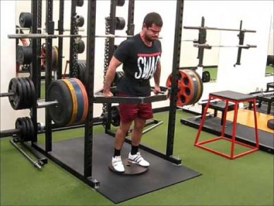 Trap Bar Leaning Deadlift