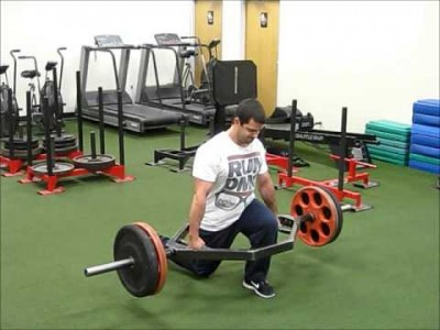 Trap Bar Lunges