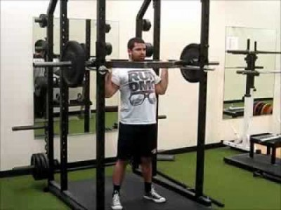 Trap Bar Overhead Press