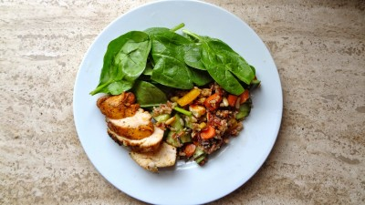 Aiman Radzi - Porsi Makanan Ikut Tapak Tangan