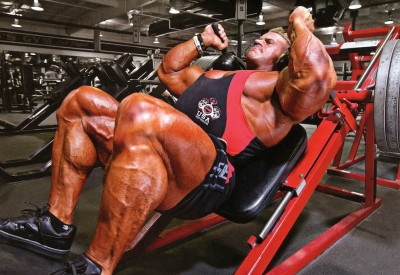 Gambar Jay Cutler Hack Squat