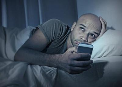 Tidur Dengan Telefon Pintar