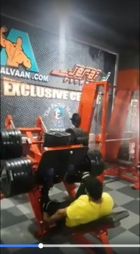 Aiman Radzi - Kaki Patah Sebab Leg Press