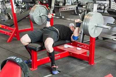 Aiman Radzi - Mengejar Bench Press 140kg
