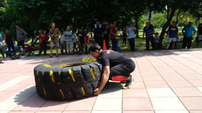 Faeez - Tyre Flip