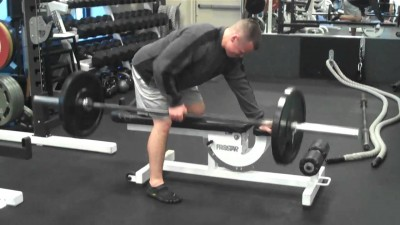 One-Arm Barbell Row