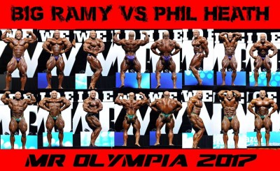 Big Ramy vs Phil Heath