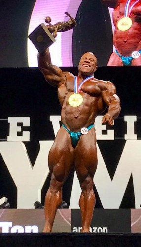 My Olympia 2017 Phil Heath
