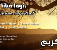 Selamat Menyambut Ramadhan