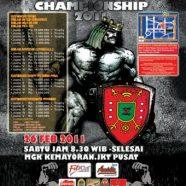 Open Jakarta Bodybuilding Championship 2011