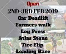 Golden Lake Strongman Challenge 2019