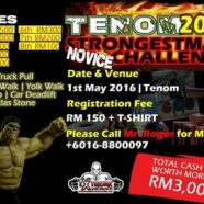 Tenom Strongestman 2016