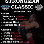 Siam Strongman Classic 2019
