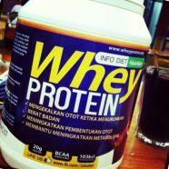 Sudahkah anda Mencuba InfoDiet Whey Protein?