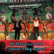 Mr Malaysia 2012