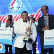 Sazali, Nicol dinobatkan Olahragawan dan Olahragawati Kebangsaan 2014