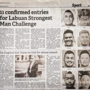 Zaki Khan Juara Labuan Strongest Man