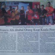 Pertandingan Orang Kuat Kuala Penyu 2015
