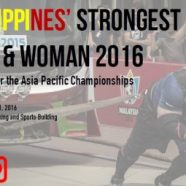 Philippine's Strongest Man & Woman 2016